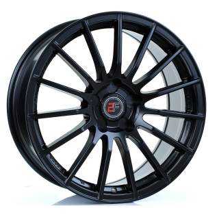 2FORGE ZF1 8x18 5x108 ET15-42 MATT BLACK