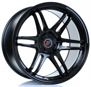 2FORGE ZF5 11x18 5x105 ET15-50 GLOSS BLACK