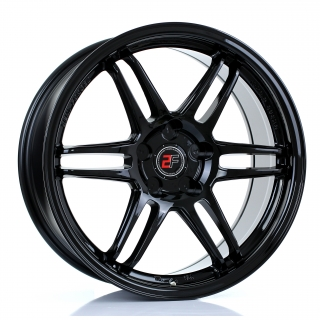 2FORGE ZF5 8x18 5x115 ET15-38 GLOSS BLACK