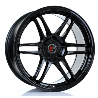 2FORGE ZF5 9x18 5x115 ET0-38 GLOSS BLACK
