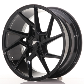 JR33 8,5x19 5x100 ET20-45 GLOSS BLACK