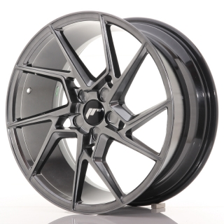 JR33 8,5x19 5x100 ET20-45 HYPER BLACK