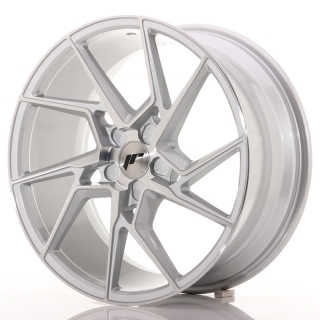 JR33 8,5x19 5x100 ET20-45 SILVER MACHINED