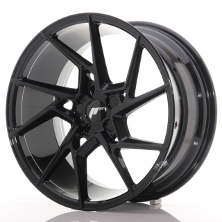 JR33 9,5x19 5x100 ET20-45 GLOSS BLACK