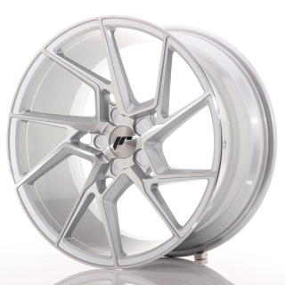 JR33 9,5x19 5H BLANK ET20-45 SILVER MACHINED