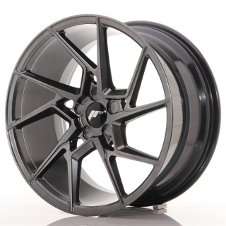 JR33 9,5x19 5x100 ET35-45 HYPER BLACK