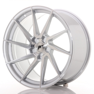 JR36 10x20 5x120 ET20-45 BRUSHED SILVER