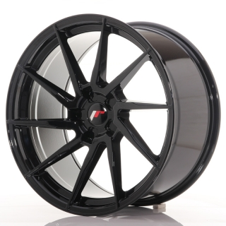 JR36 10x20 5x120 ET20-45 GLOSS BLACK