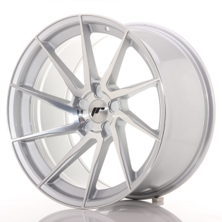 JR36 10,5x20 5x127 ET10-30 BRUSHED SILVER