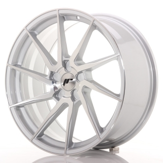JR36 9x20 5x127 ET15-38 BRUSHED SILVER