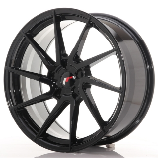 JR36 9x20 5x127 ET15-38 GLOSS BLACK