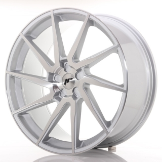 JR36 10x23 5x130 ET30-55 BRUSHED SILVER