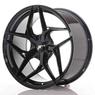 JR35 9,5x19 5H BLANK ET20-45 GLOSS BLACK