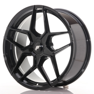 JR34 8,5x19 5x114,3 ET35-40 GLOSS BLACK
