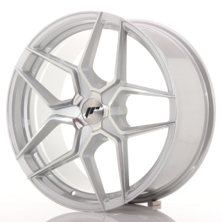 JR34 8,5x19 5x114,3 ET35-40 SILVER MACHINED