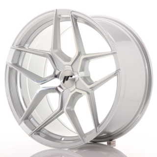 JR34 9,5x19 5x112 ET20-40 SILVER MACHINED