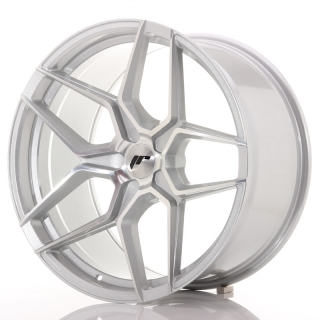 JR34 10,5x20 5x120 ET20-35 SILVER MACHINED