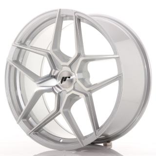 JR34 9x20 5x120 ET20-40 SILVER MACHINED