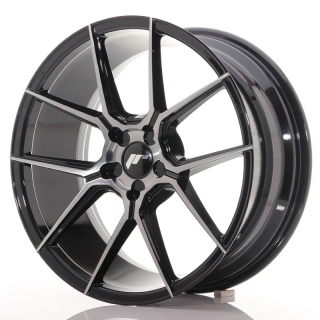 JR30 8,5x19 5x110 ET20-40 BLACK BRUSHED w/ TINTED FACE