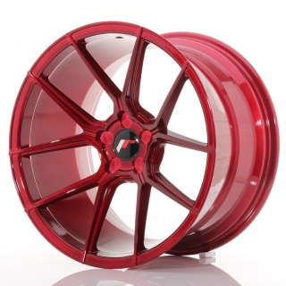 JR30 11x19 5x110 ET15-40 PLATINUM RED