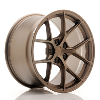 JR WHEELS SL01 10,5x18 5x108 ET25-38 MATT BRONZE