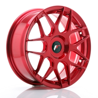 JR18 7x17 5x100 ET20-40 PLATINUM RED