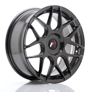 JR18 7x17 5x100 ET20-40 HYPER GRAY