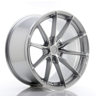 JR37 10,5x20 5x130 ET20-40 SILVER MACHINED FACE