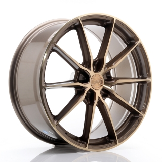 JR37 9x20 5x130 ET20-45 PLATINUM BRONZE