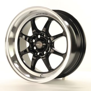 TF2 7,5x15 4x100/114,3 ET10 GLOSS BLACK