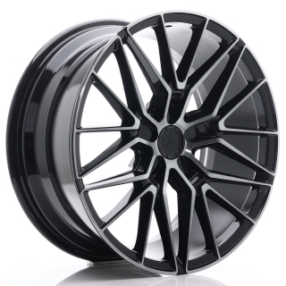 JR38 8,5x19 5x118 ET20-45 BLACK BRUSHED W/TINTED FACE
