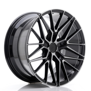 JR38 9,5x19 5x118 ET20-45 BLACK BRUSHED W/TINTED FACE