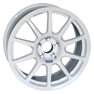 BRAID FULLRACE RALLYCROSS 8x18 5x130 ET-10/70 WHITE
