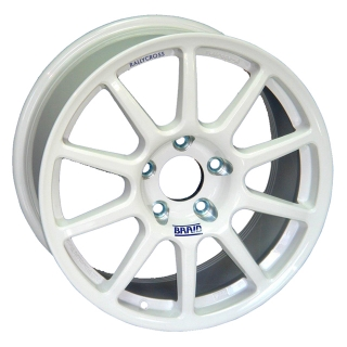 BRAID FULLRACE RALLYCROSS 8x17 5x130 ET-5/55 WHITE
