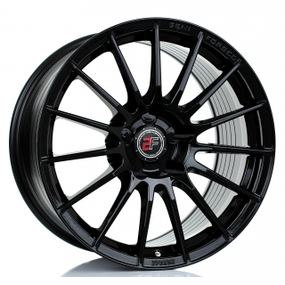 2FORGE ZF1 9,5x17 5x112 ET0-45 GLOSS BLACK