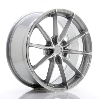 JR37 8,5x19 5x120 ET20-45 SILVER MACHINED FACE