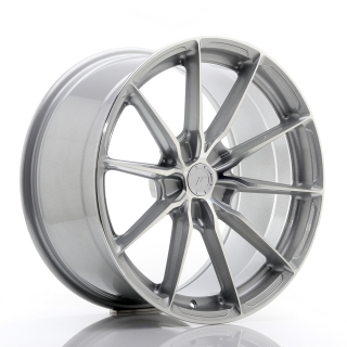JR37 9,5x19 5x120 ET20-45 SILVER MACHINED FACE