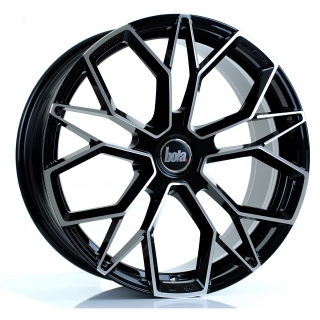 BOLA FLF 8,5x19 5x100 ET42-50 GLOSS BLACK POLISHED